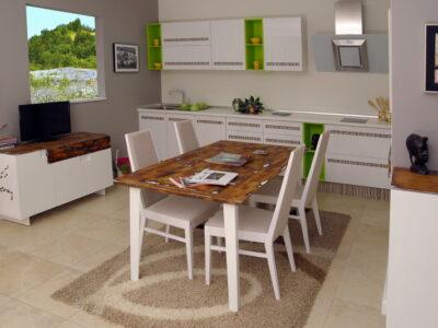 Кухня Зина - Кухехнски мебели Абанос