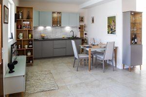 Кухня по индивидуален проект Инес